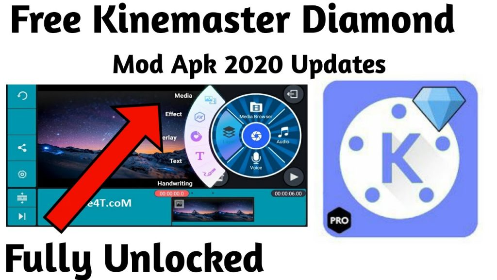 Kinemaster Diamond MOD APK Fully Unlocked